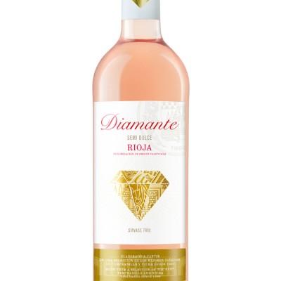 Diamante Rosado Semi-Dulce