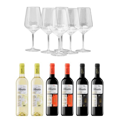 Pack Descubre Rioja + 6 copas